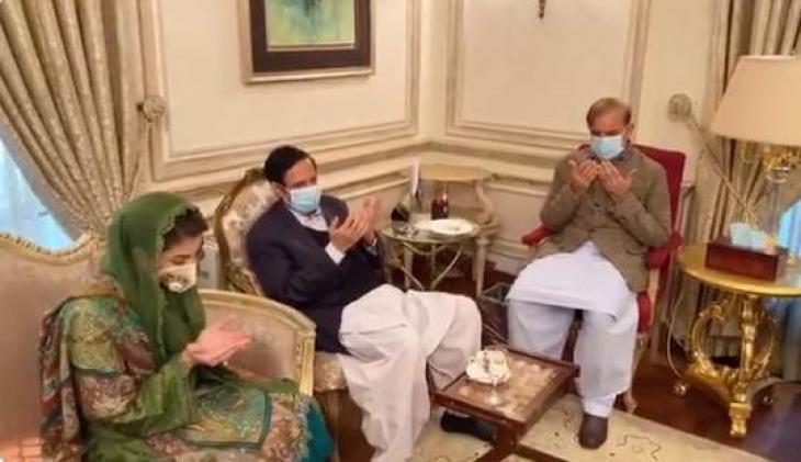 PML-Q delegation led by Chaudhary Pervaiz condoles death of Begum Shamim Akhtar