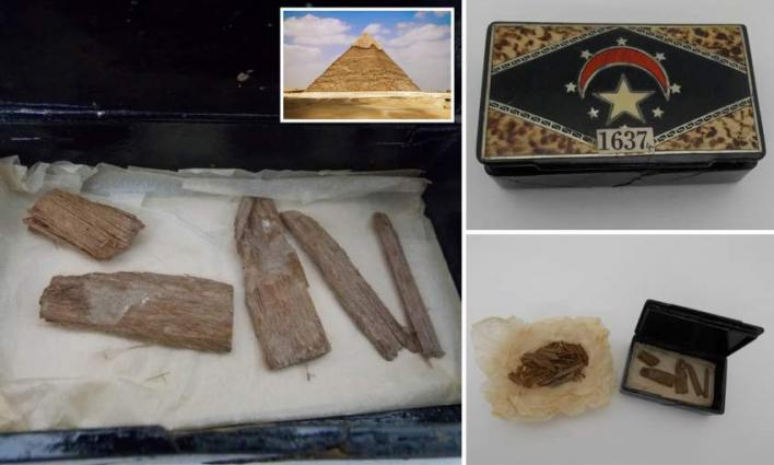Lost artefact from Egypt's Great Pyramid of Giza found in Scotland