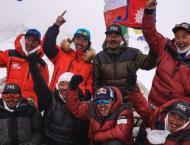 Nepalese climbers make first winter climb of K2