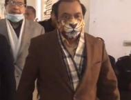 Rana Sana Ullah wears lion's mask on hearing of Khawaja Asif's ca ..