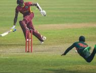 Bangladesh dismiss West Indies for 148 in second ODI