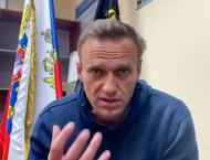 Kremlin dismisses calls to free Navalny, warns against protests