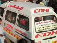 Nine injured in three-vehicle collision at Karachi