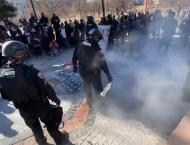 Fresh Anti-Police Protest Erupts in US After Officer Rams Car Int ..