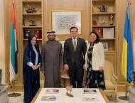 UAE Ambassador, Ukrainian Foreign Minister explore boosting ties
