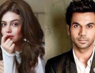 Zara Noor Abbas gets lovely response from Indian actor RajKummar  ..