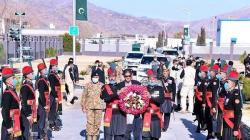 Prime Minister visits FC Headquarters, pays respects to martyrs