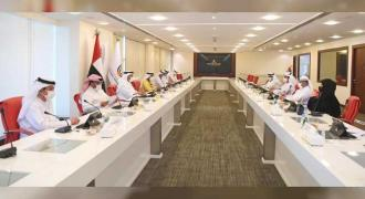 Rashid bin Humaid heads meeting of Board of Directors of UAEFA