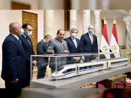 شركة سيمنز تنفذ شبكة قطار كهربائى سريع بمصر بطول الف كم بتكلفة ٣٦٠ مليار جنيه
