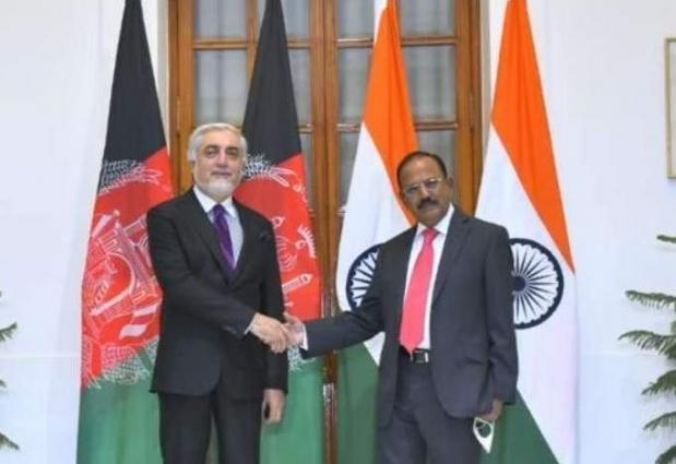 Leading Afghan Negotiator Meets With Indian Security Chief for Talks on Peace Process