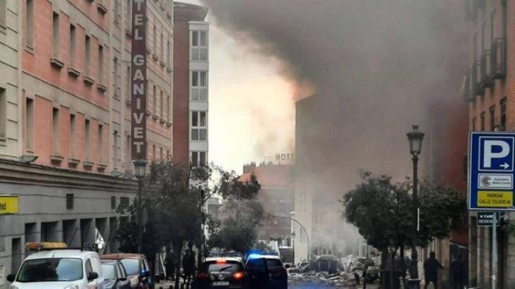 At least two dead in Madrid building blast: mayor