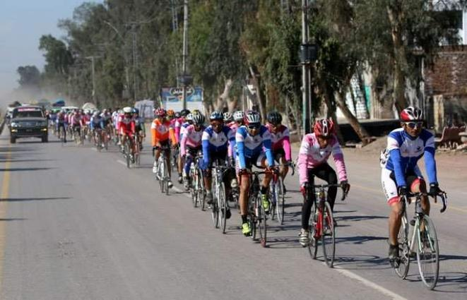 Pak Army's Bilal leads opening day of 'Tour the Tharparkar' cycling race