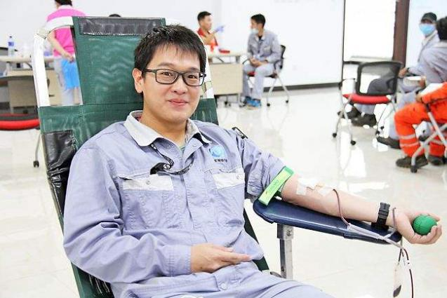 Brunei-China joint petrochemical venture organizes blood donation