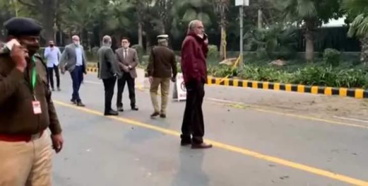 Blast near Israeli Embassy in Delhi: Indian media