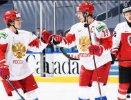 Russian National Ice Hocker Team Defeats Finns in Swedish Hockey  ..