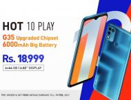 Infinix Hot 10 Play with MediaTek Helio G35 is now available on P ..
