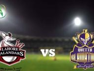 PSL 6 Match 04 Lahore Qalandars Vs. Quetta Gladiators 22 February ..