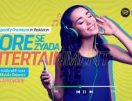 Telenor Pakistan partners with Spotify