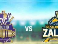 PSL 6 Match 08 Peshawar Zalmi Vs. Quetta Gladiators 26 February 2 ..