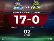 Karachi Kings win the toss, decided to bowl first against Multan  ..