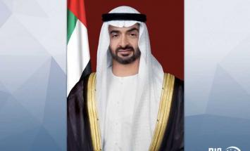 محمد بن زايد يستقبل رئيس الجمعية الوطنية ..