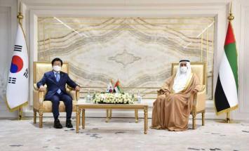 صقر غباش يبحث مع رئيس الجمعية الوطنية ..