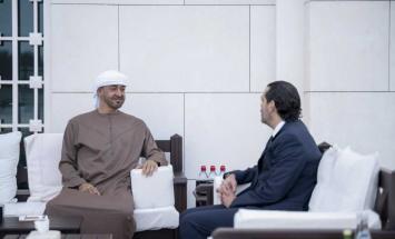 محمد بن زايد يستقبل سعد الحريري .. ويؤكد ..