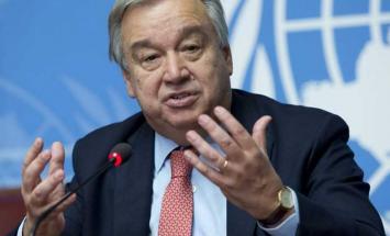 """غوتيريش يطالب ب""""تحالف عالمي """" للالتزام .."""