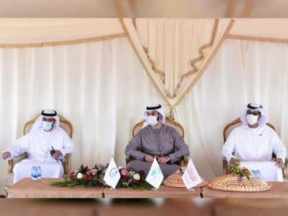 """علي بن سعود المعلا يفتتح ويشارك في حملة"""" بيئتي موطني"""""""