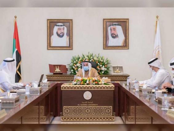 Sharjah Ruler chairs board meeting of Al Qasimia University