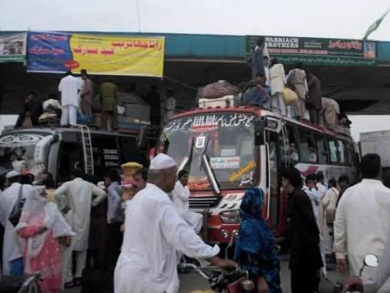 Unauthorized transport stands to be shifted to outskirts of Hyderabad