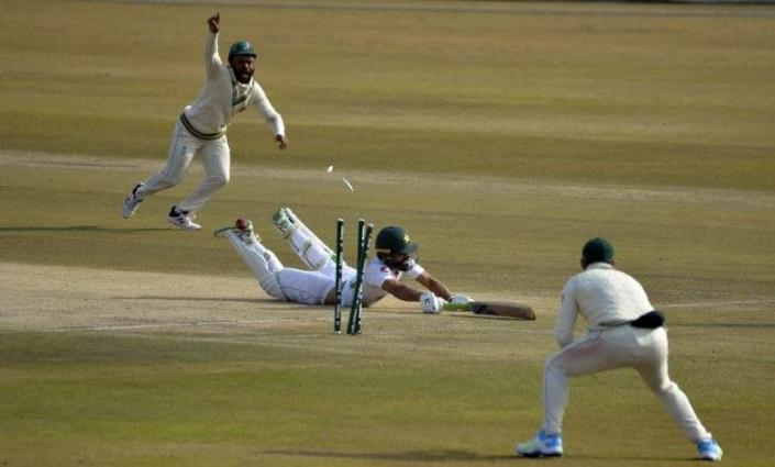 Anrich Nortje and Faheem Ashraf review second day's play