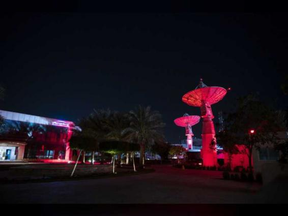 Landmarks across UAE and region turned red for Hope Probe's arrival to Mars