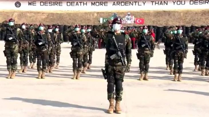 Pak-Turkey joint military exercise ATATURK-XI stars