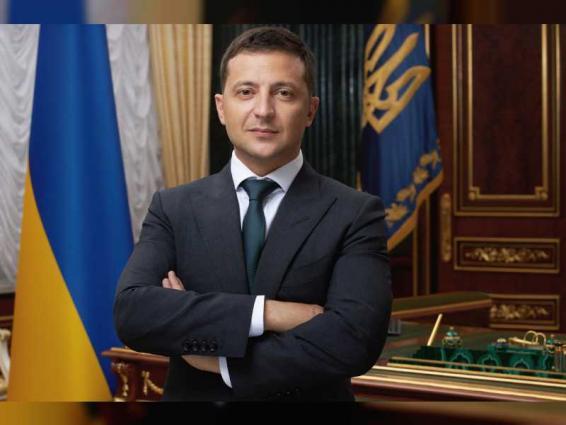 Ukrainian President arrives in UAE