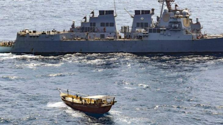 US Navy Seizes Shipment of Thousands of Rifles, Other Small Arms Off Coast of Somalia
