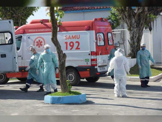 Brazil reports 56,766 new coronavirus cases