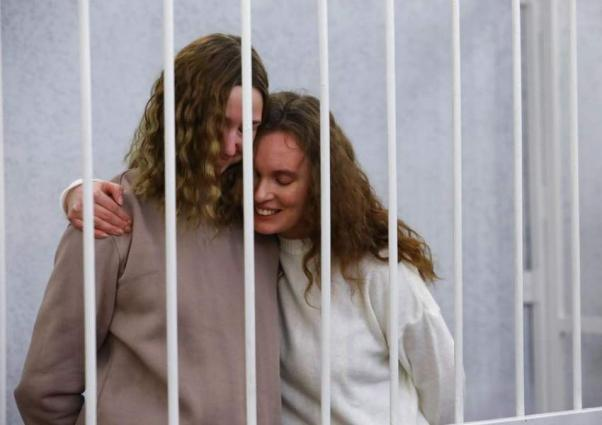 Belarus court sentences two journalists to two years in prison: report
