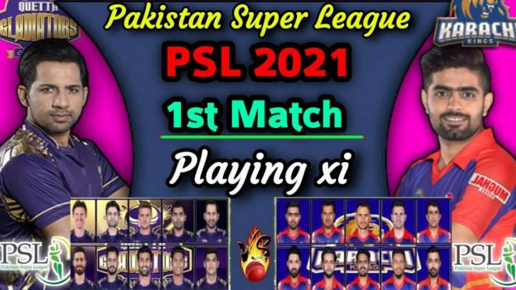 PSL 6 Match 01 Karachi Kings Vs. Quetta Gladiators 20 February 2021: Watch LIVE