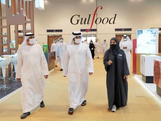 Maktoum bin Mohammed opens Gulfood 2021
