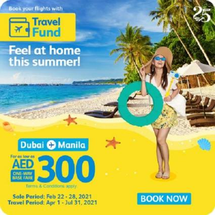 Cebu Pacific offers early Summer Seat Sale with Dubai-Manila flights for as low as AED300