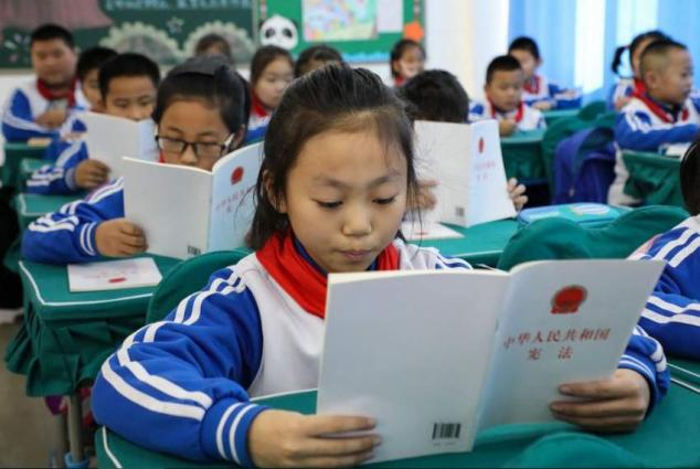 China makes headway  in legal education for minors in 2020