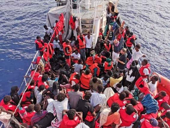 197 illegal migrants rescued off coast