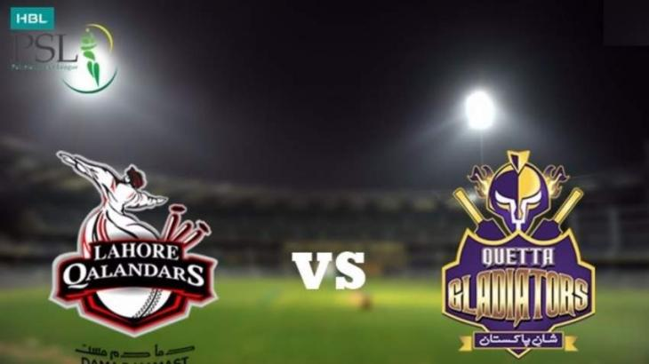PSL 6 Match 04 Lahore Qalandars Vs. Quetta Gladiators 22 February 2021: Watch LIVE on TV