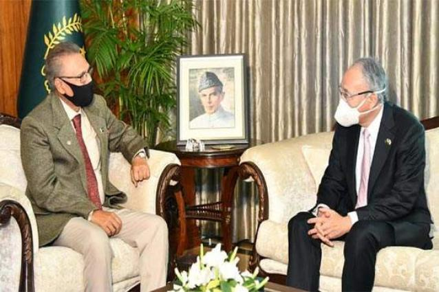 President urges Japan to avail abundant business opportunities in Pakistan