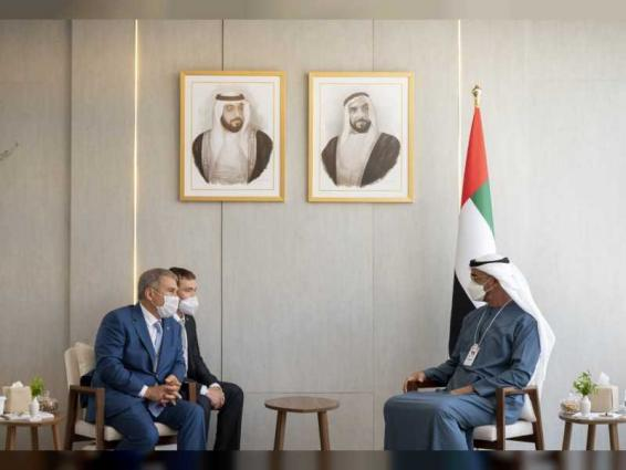 Mohamed bin Zayed receives President of Tatarstan, French Minister of Armed Forces