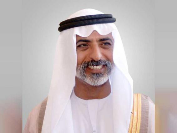Nahyan bin Mubarak receives North Macedonia's Minister of Foreign Affairs