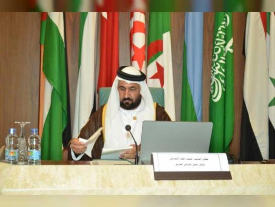 وفد الشعبة البرلمانية الإماراتية يشارك في الجلسة العامة للبرلمان العربي بالقاهرة