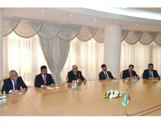 Meeting of the Minister of Foreign Affairs of Turkmenistan with the Leader of the National Islamic movement party of Afghanistan