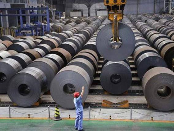 China steel futures close mixed